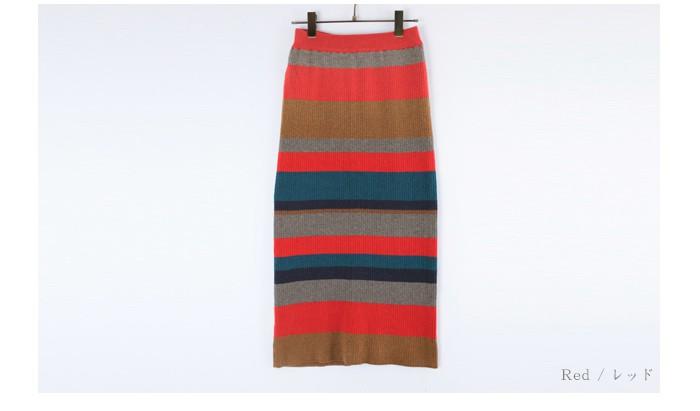 マルチボーダーIラインスカート13