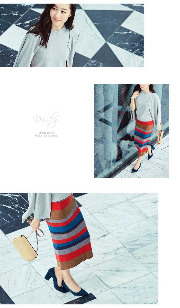 マルチボーダーIラインスカート5