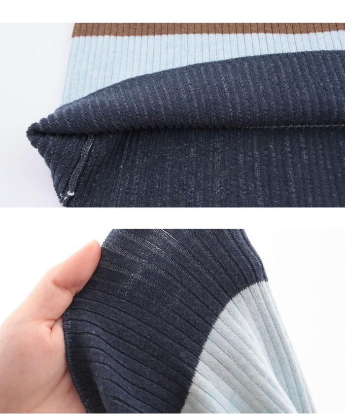 マルチボーダーIラインスカート15