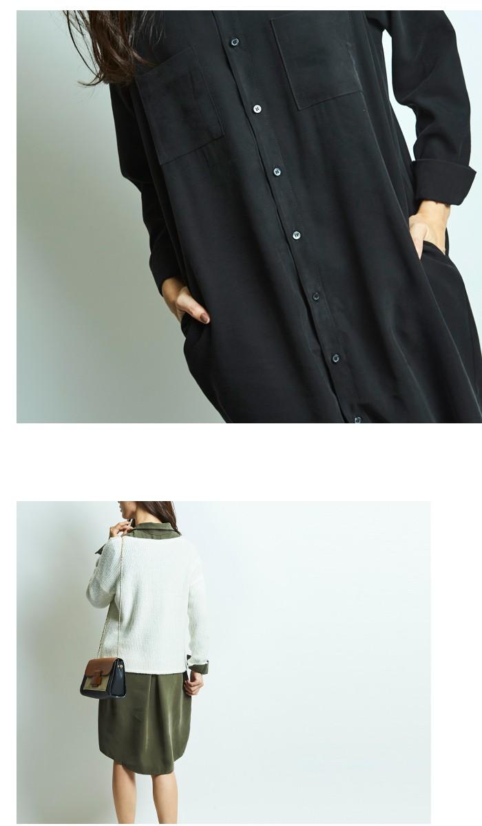 ロングシャツ9