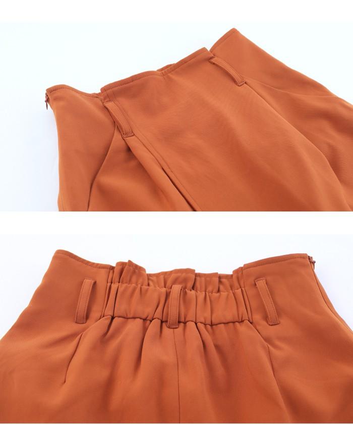 ラップ風スカートセットアップ15