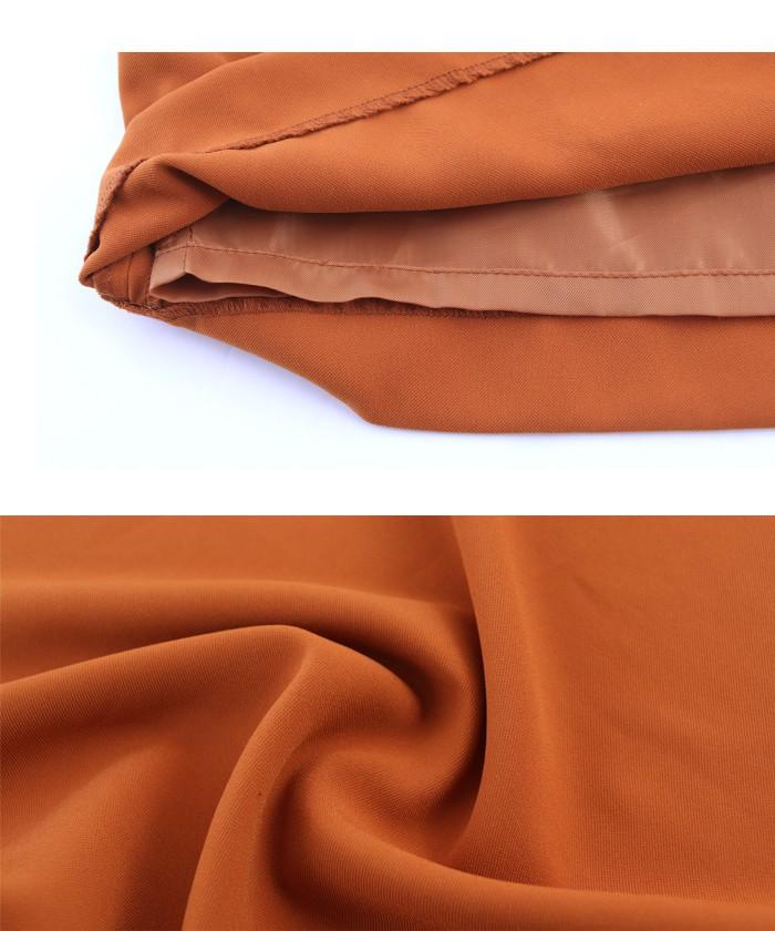 ラップ風スカートセットアップ16