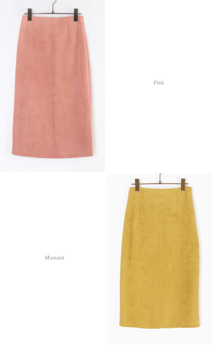 フェイクスウェードタイトスカート12