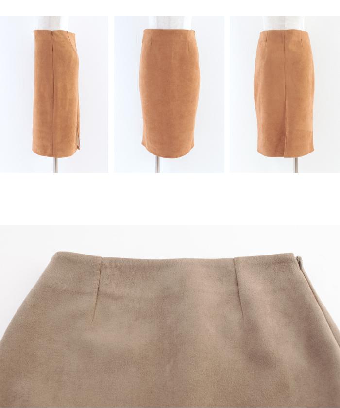 フェイクスウェードタイトスカート14