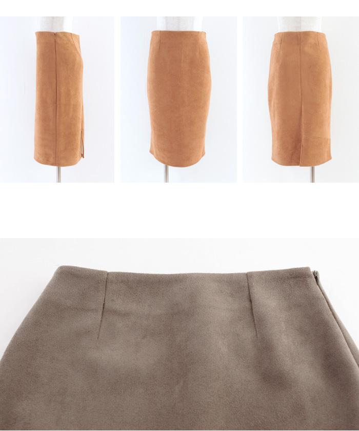 フェイクスウェードタイトスカート16