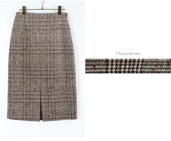 フロントスリットパターンタイトスカート13