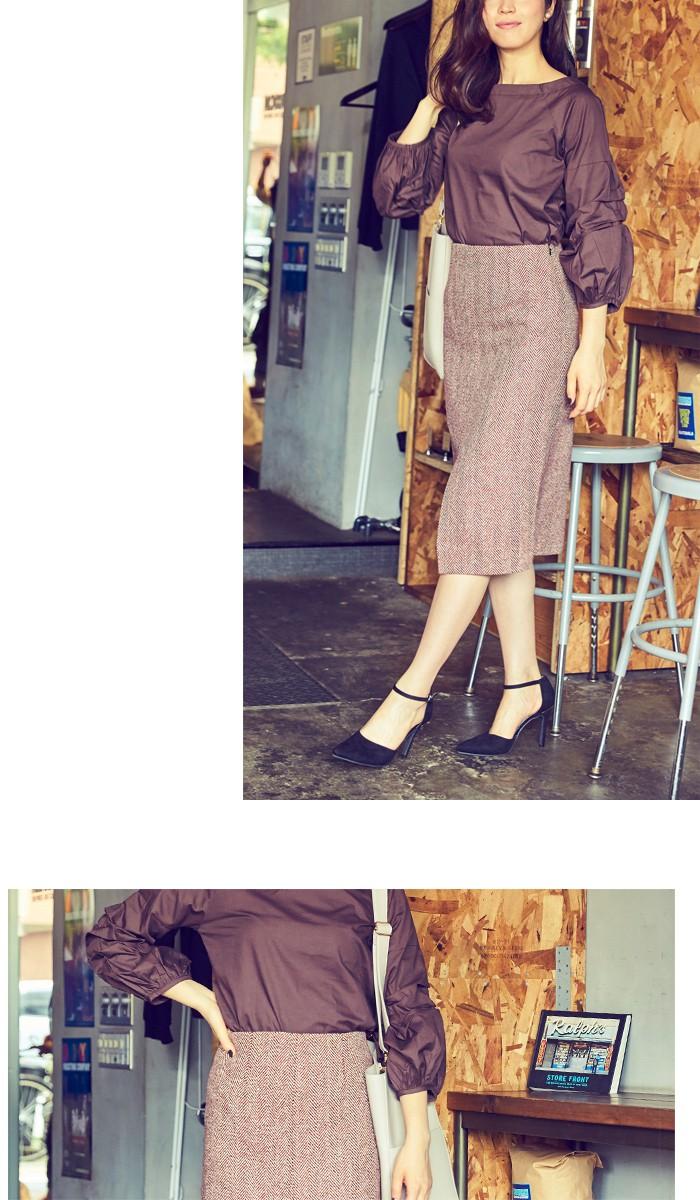 フロントスリットパターンタイトスカート9