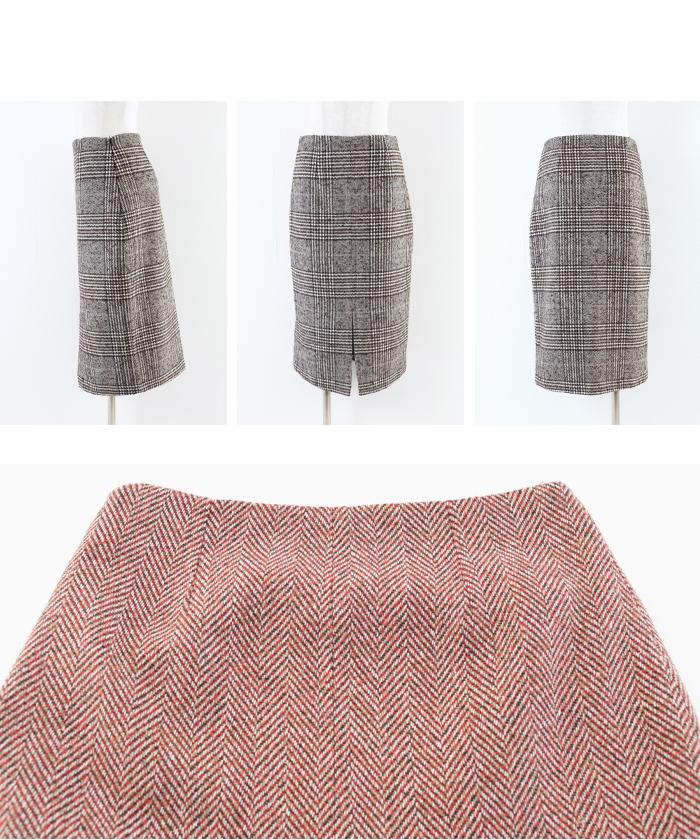 フロントスリットパターンタイトスカート14