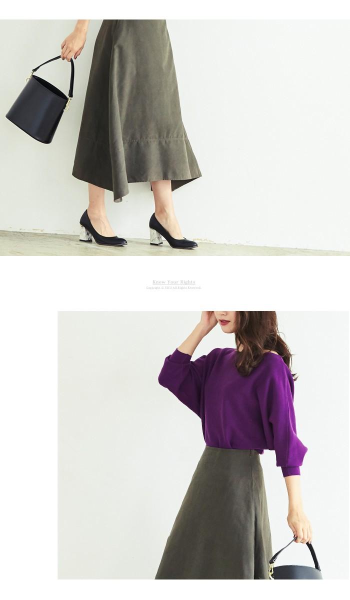 サイドヘムマキシスカート2