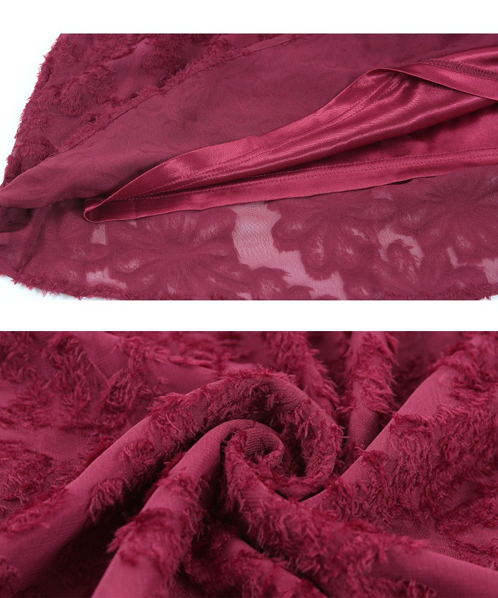 花柄ジャガードスカート16