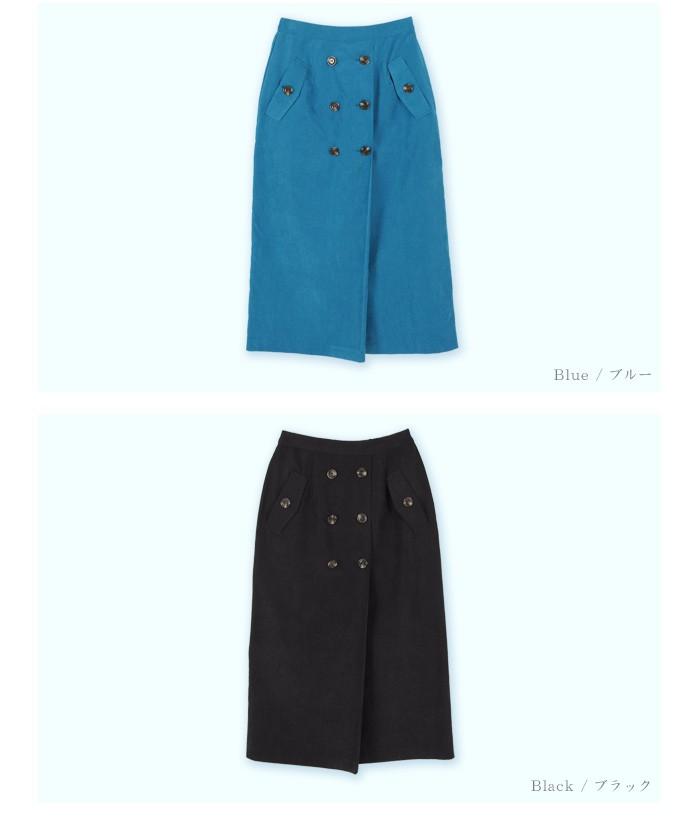 トレンチ風タイトスカート13