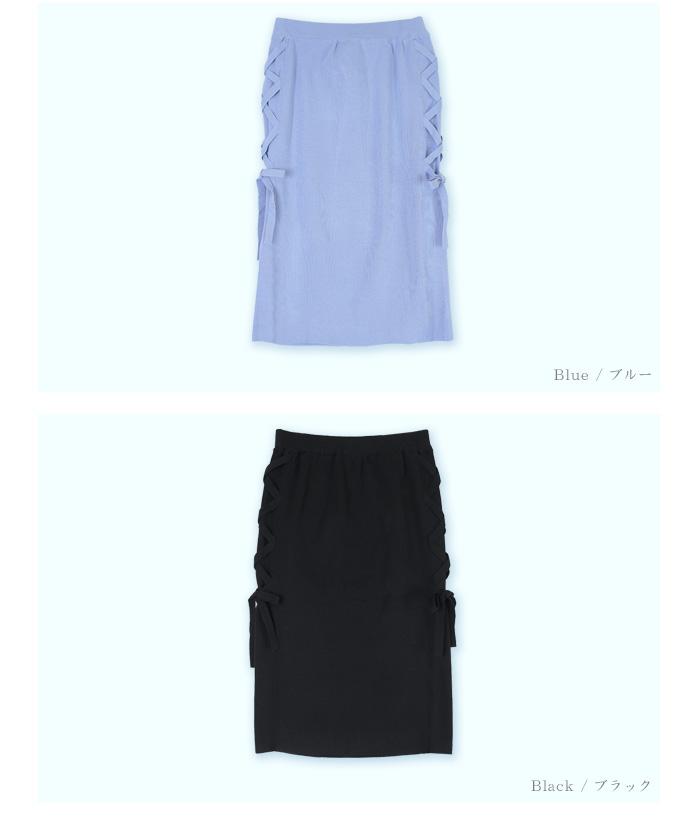 サイドレースアップタイトスカート13