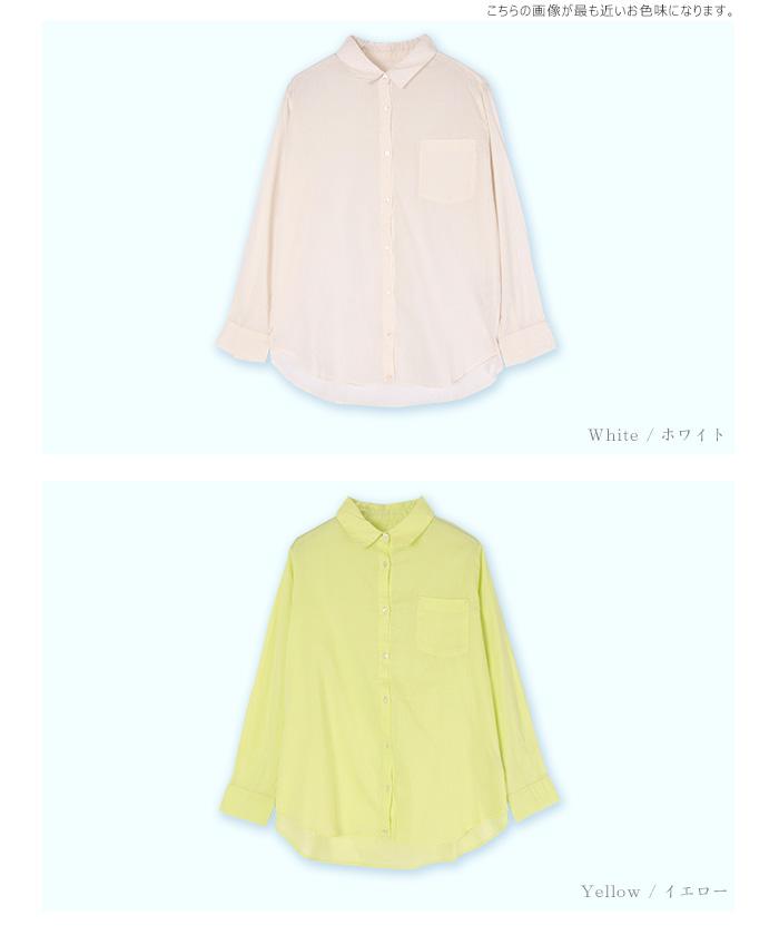 2wayコットンカシュクールシャツ12