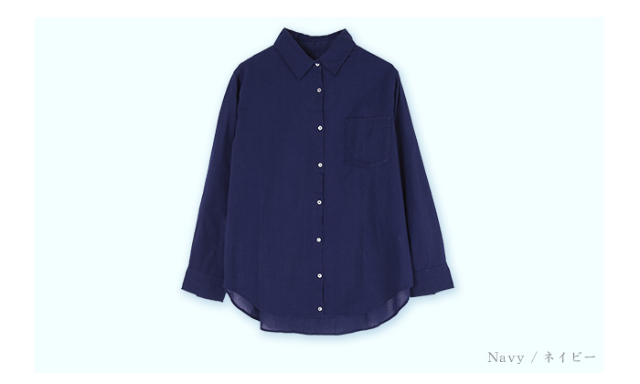 2wayコットンカシュクールシャツ13