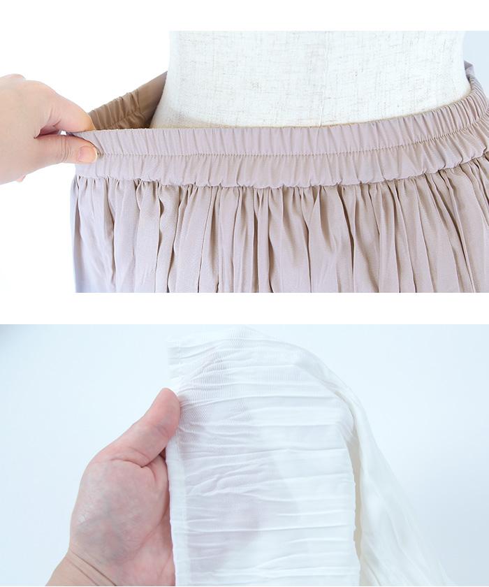 ワッシャープリーツマキシスカート15