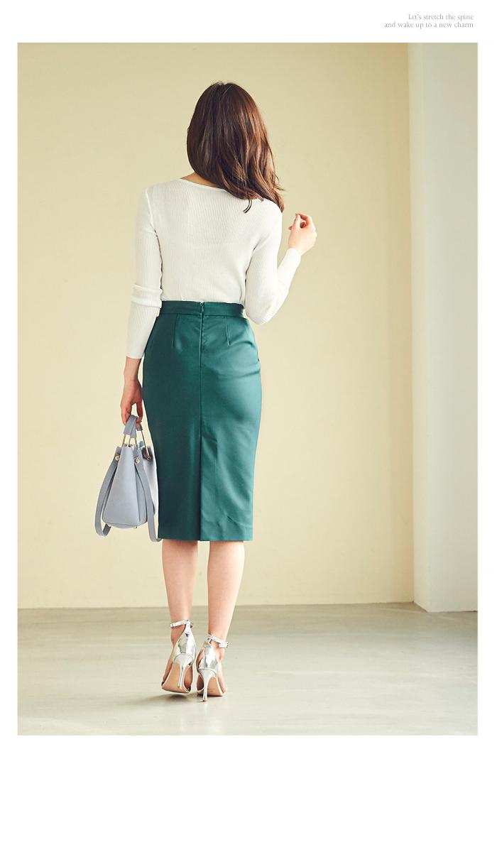 ストレッチタイトスカート11