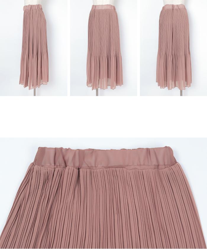 ランダムプリーツスカート14