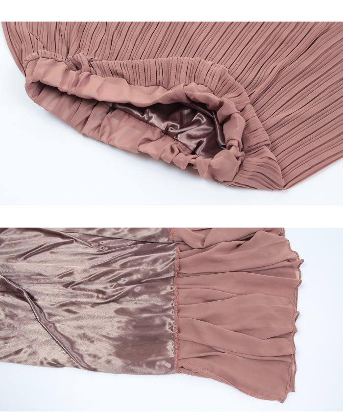 ランダムプリーツスカート15
