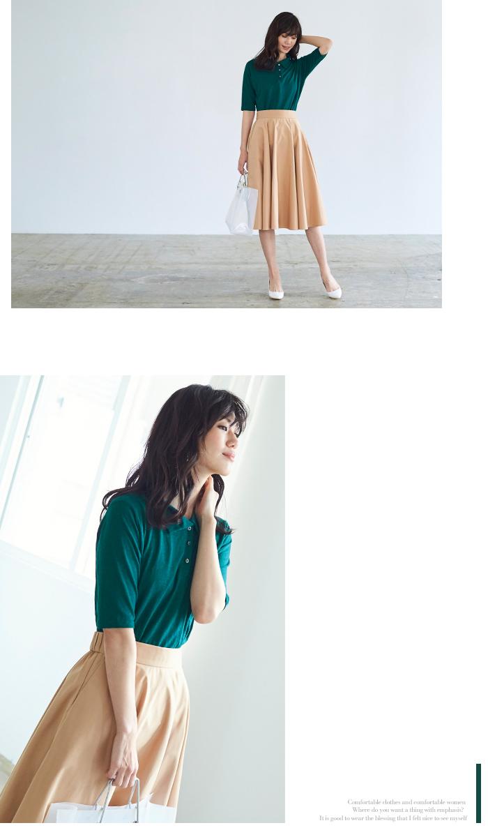 リネンポロシャツ5