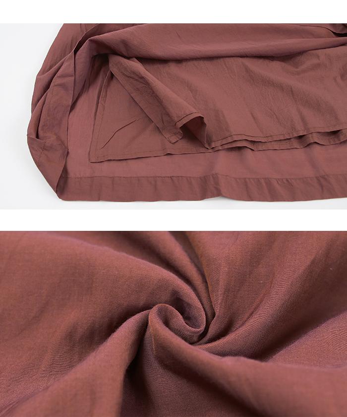 ボイルギャザーロングスカート16