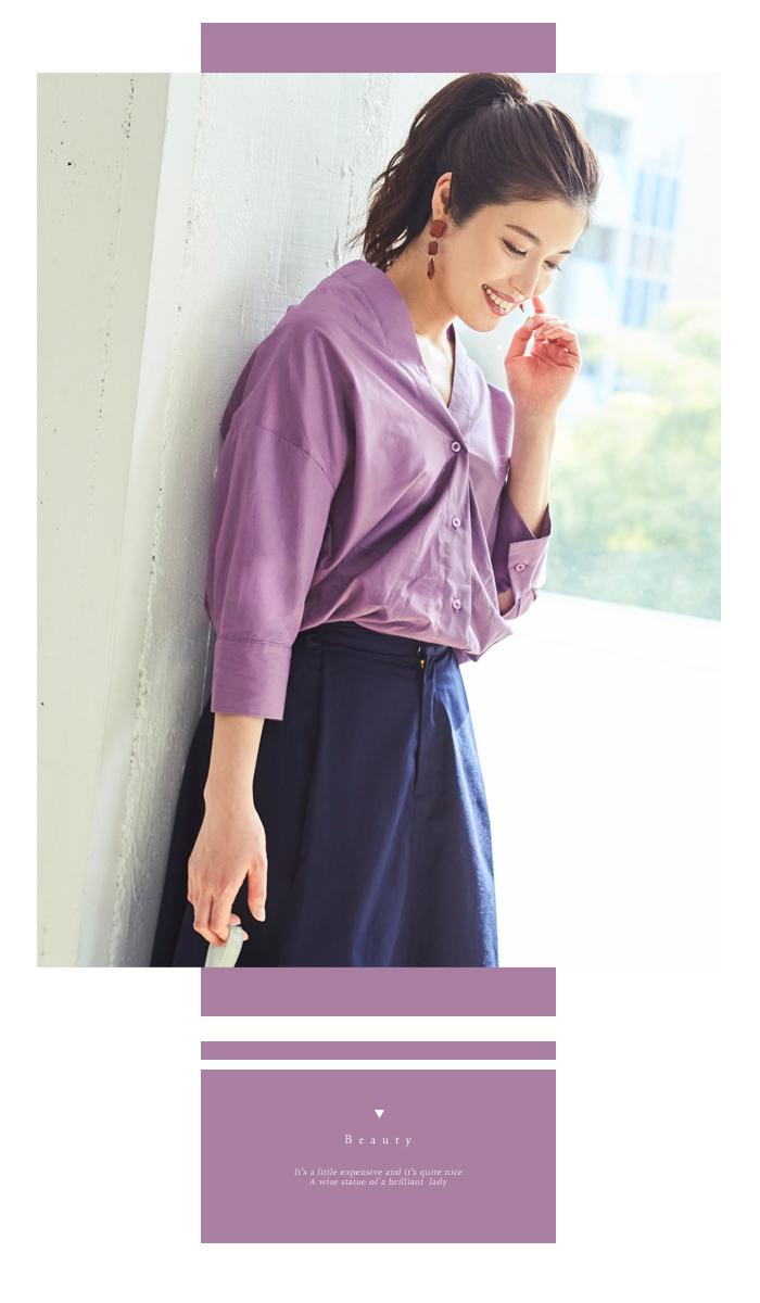 抜け襟オーバーシャツ3