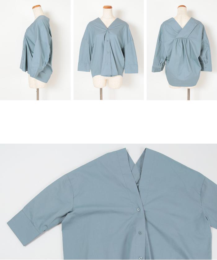 抜け襟オーバーシャツ14