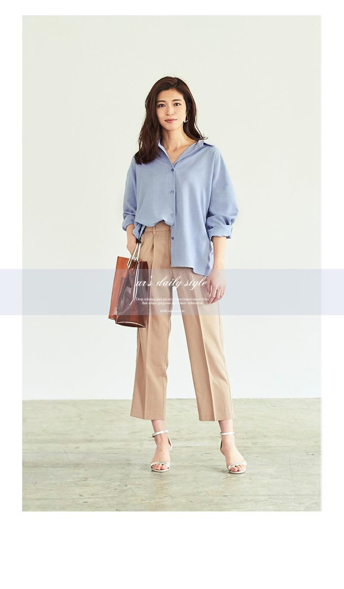 リネンライクワイドシャツ5
