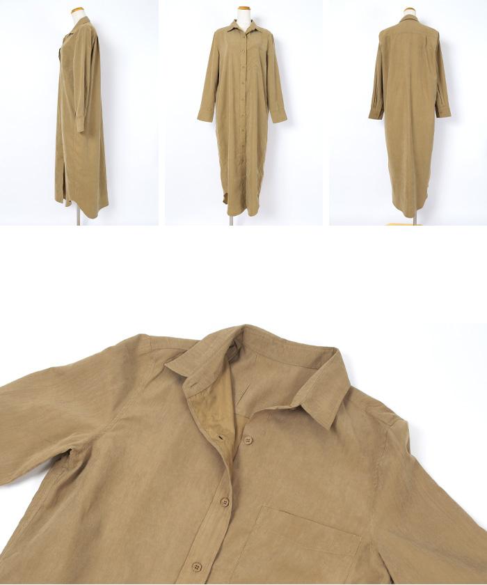 ロングシャツワンピース14