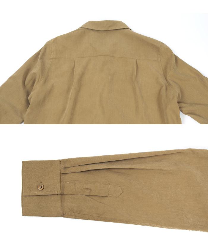 ロングシャツワンピース15