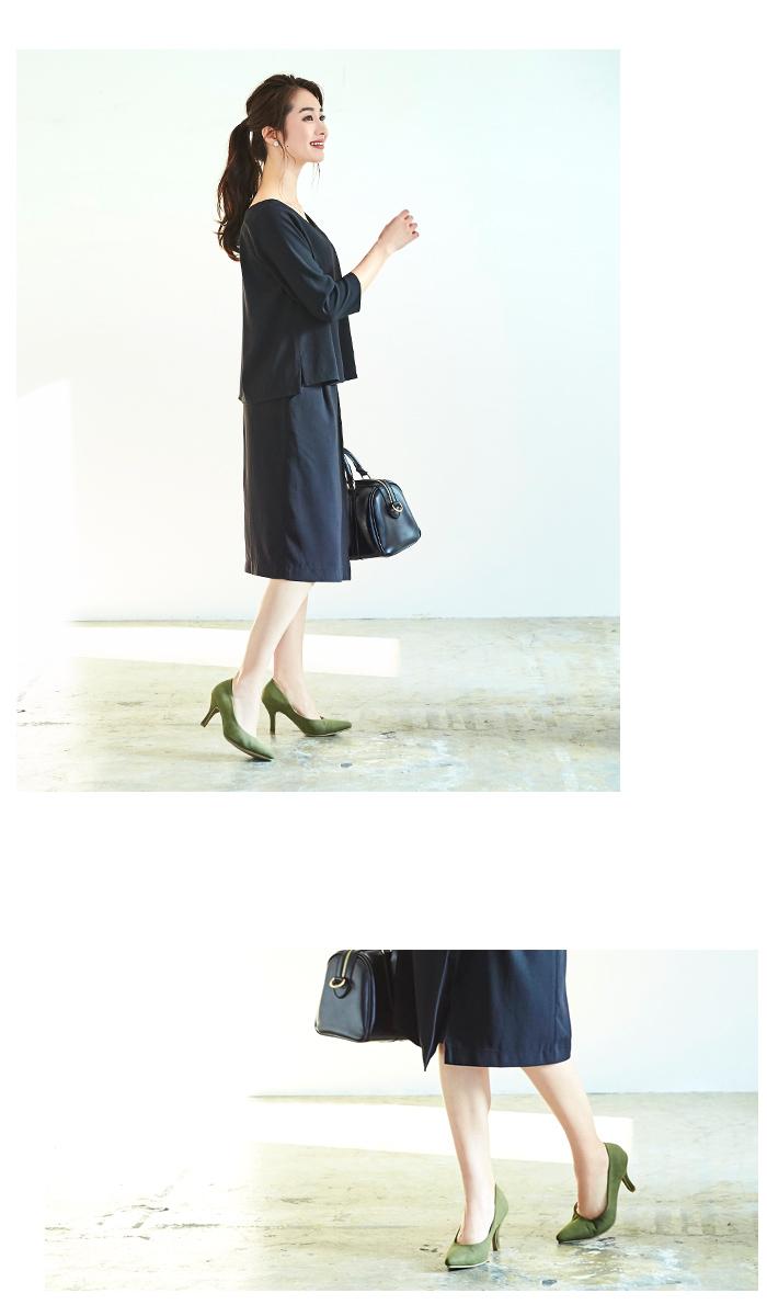 ラップ風スカートセットアップ5
