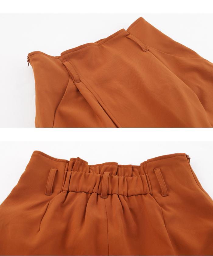 ラップ風スカートセットアップ14