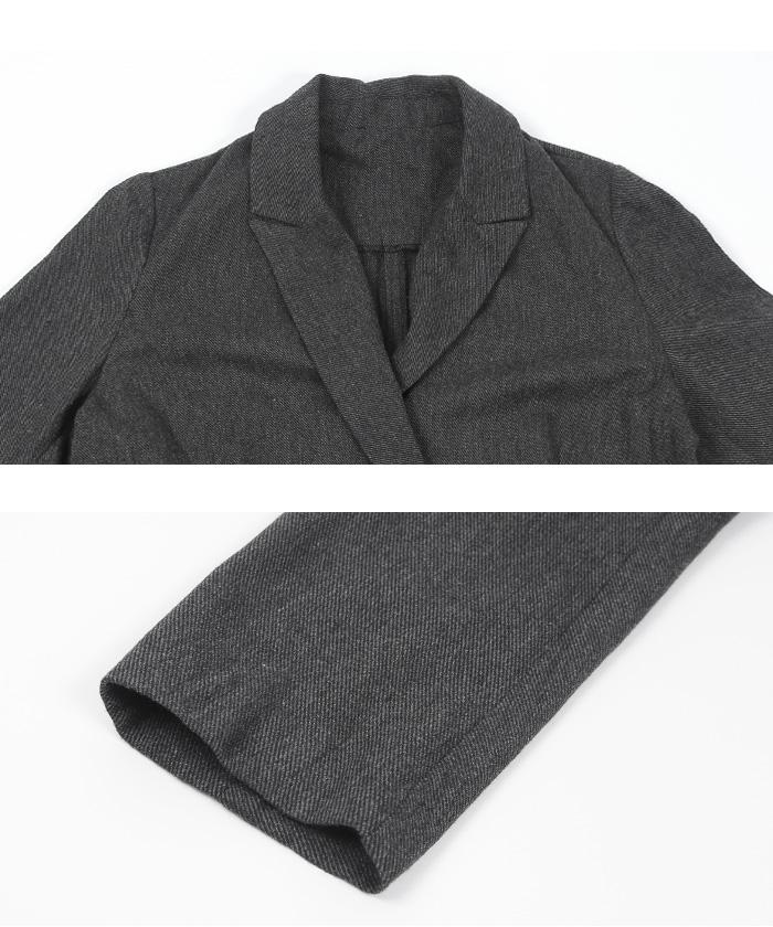 ジャケット×パンツセットアップ15
