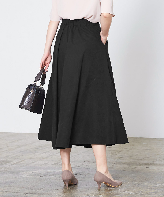 ボリュームフレアスカート14