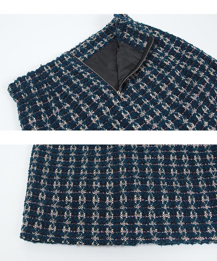 ツイードタイトスカート15