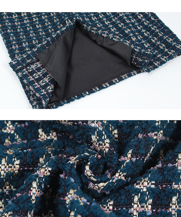 ツイードタイトスカート16