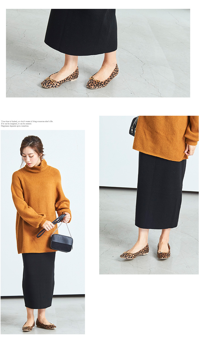 リブニットタイトスカート5