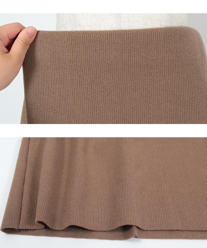 ウールボンディングロングタイトスカート15
