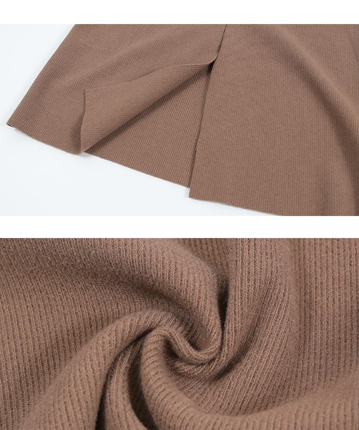 ウールボンディングロングタイトスカート16