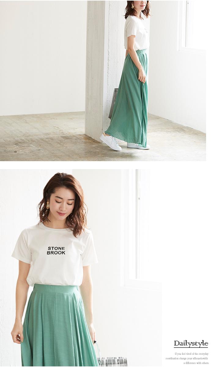 シンプルロゴTシャツ6