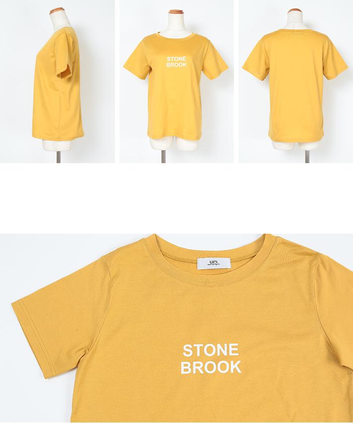 シンプルロゴTシャツ14