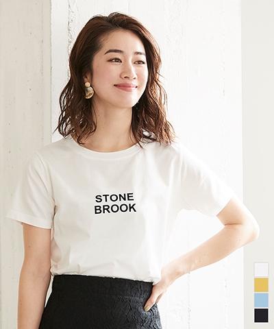 シンプルロゴTシャツ【メール便可/30】