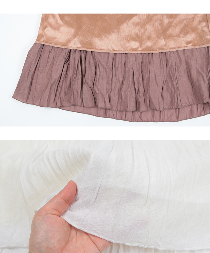 ワッシャープリーツスカート15