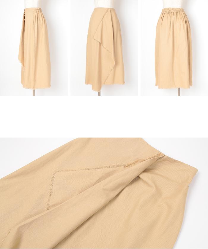 ツイルフリンジラップスカート14