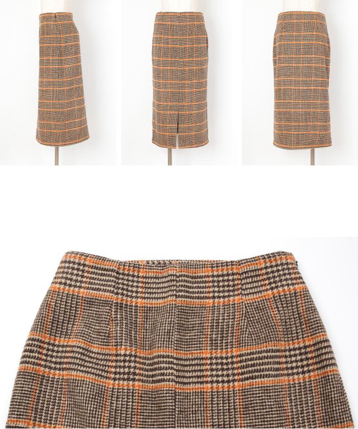 フロントスリットタイトスカート14