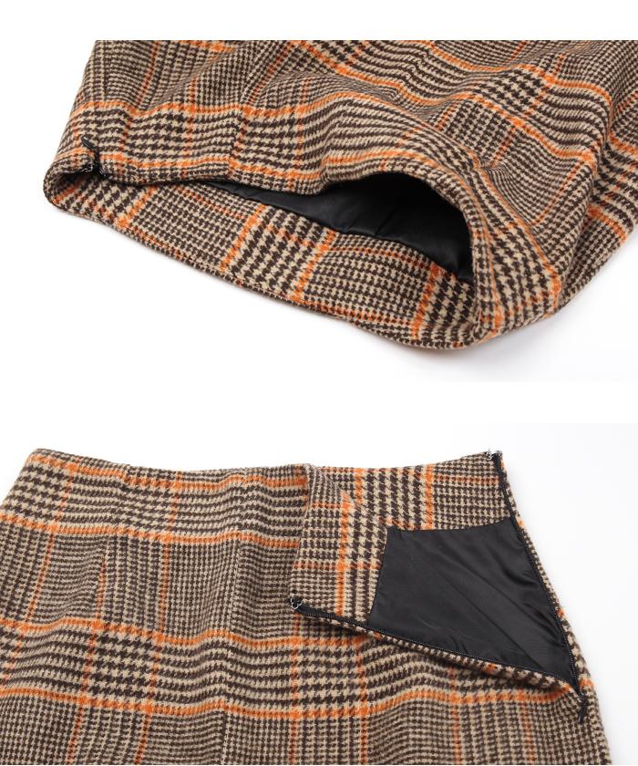 フロントスリットタイトスカート15