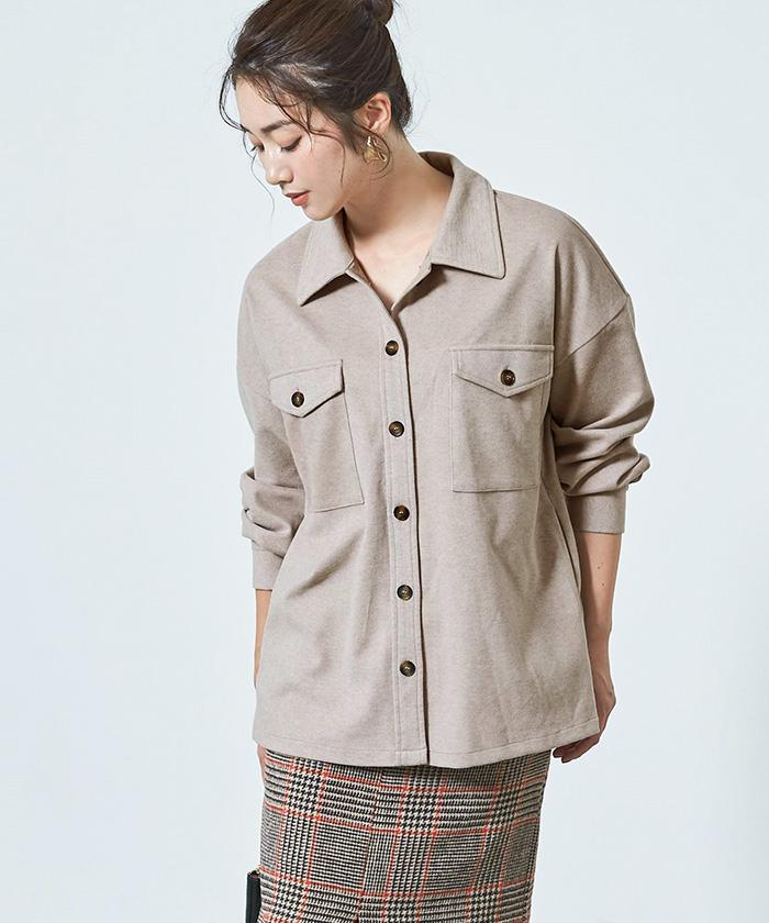 ウエストマークシャツジャケット12