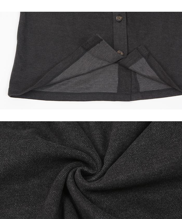 ウエストマークシャツジャケット16