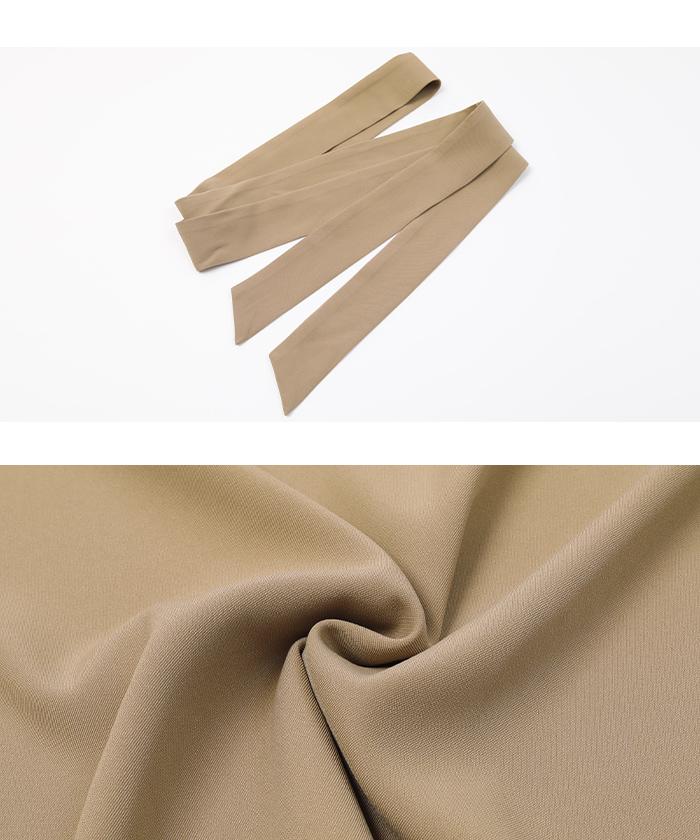 トップス×ラップ風スカートセットアップ16
