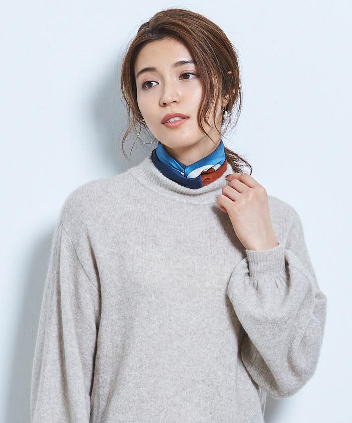 カラーコントラストスカーフ4