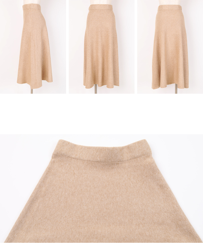 ニットフレアスカート14